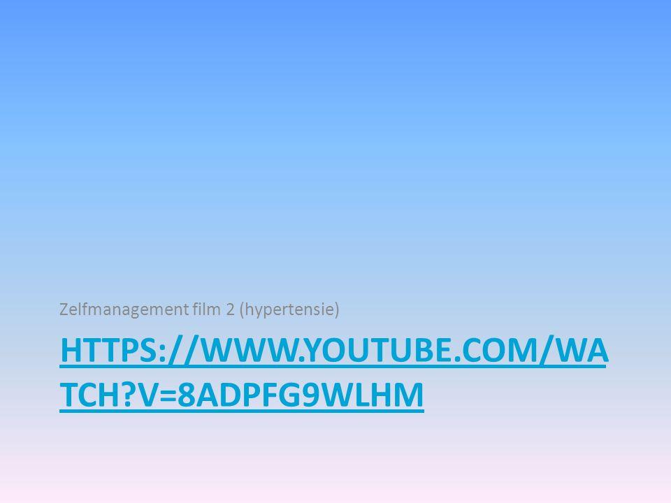 Zelfmanagement film 2 (hypertensie)