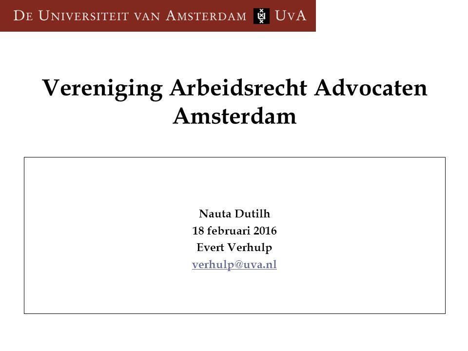 Vereniging Arbeidsrecht Advocaten Amsterdam
