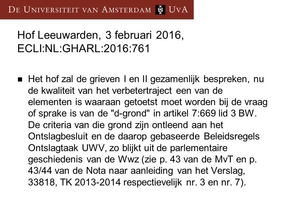 Hof Leeuwarden, 3 februari 2016, ECLI:NL:GHARL:2016:761