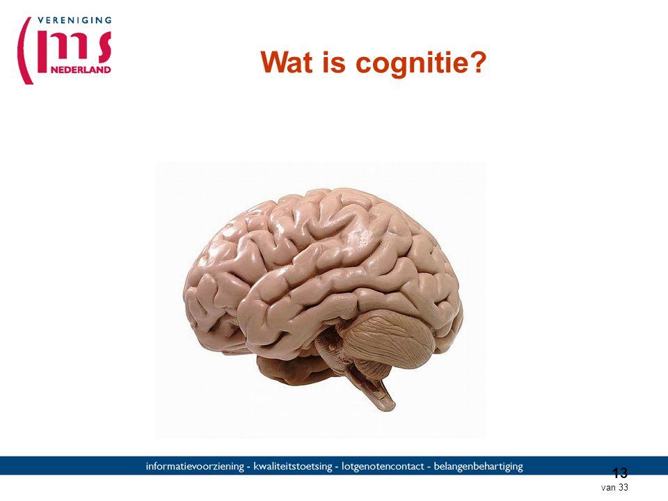 Wat is cognitie Interactief: wie weet wat cognitie is