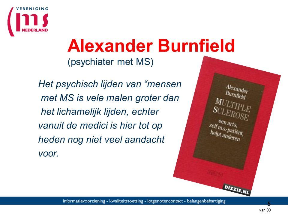 Alexander Burnfield (psychiater met MS)