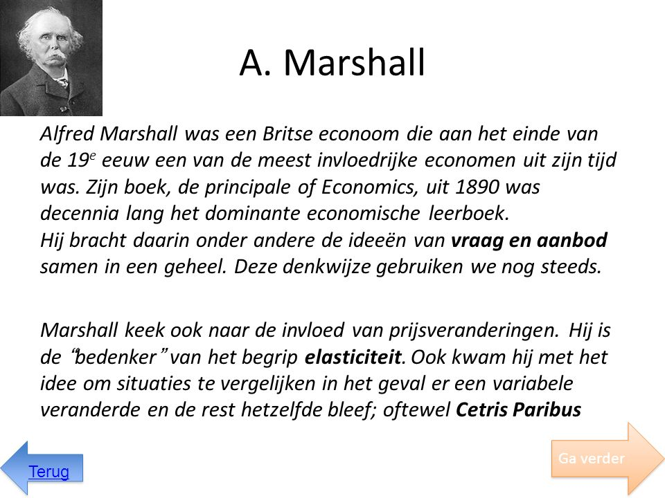 A. Marshall