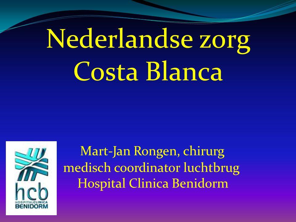 Costa Blanca Mart-Jan Rongen, chirurg