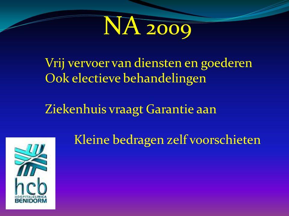 NA 2009 Vrij vervoer van diensten en goederen