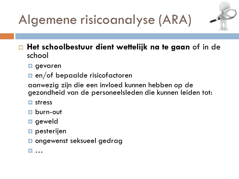 Algemene risicoanalyse (ARA)