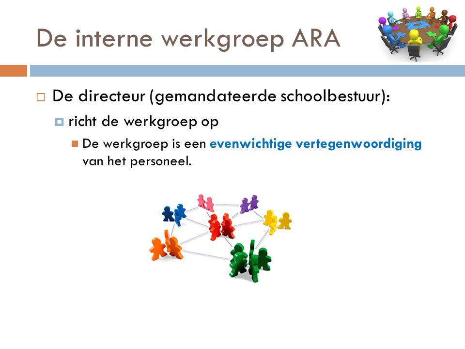 De interne werkgroep ARA