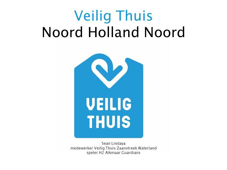 Veilig Thuis Noord Holland Noord Sean Lindaya medewerker Veilig Thuis Zaanstreek Waterland speler H2 Alkmaar Guardians