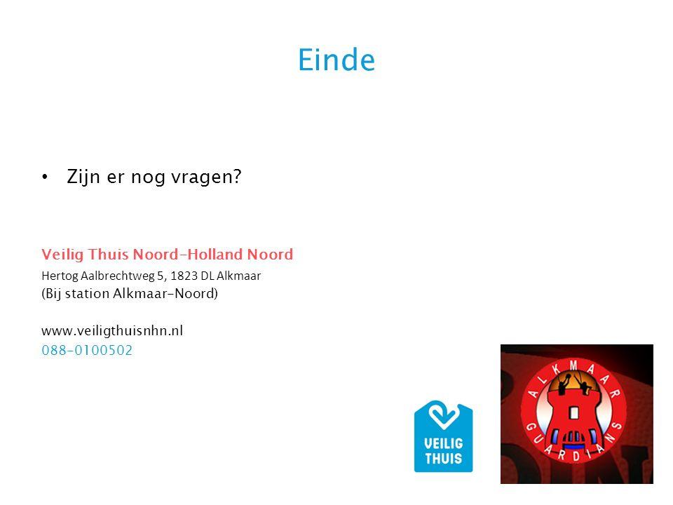 Einde Zijn er nog vragen Veilig Thuis Noord-Holland Noord