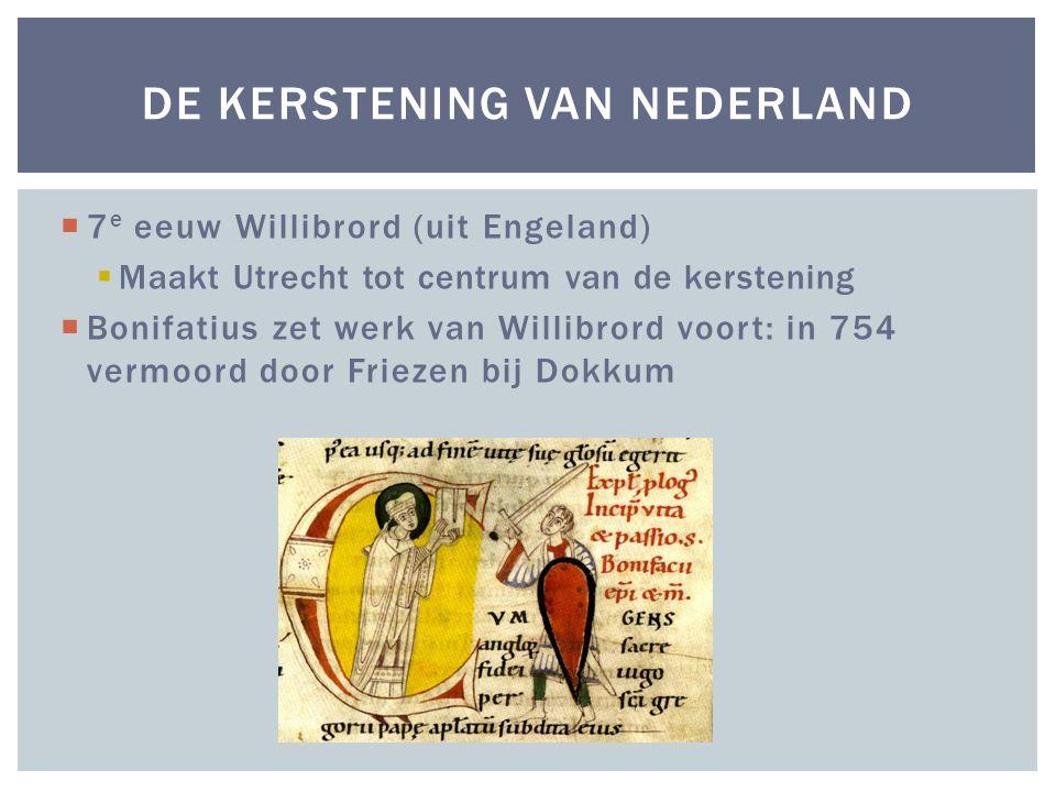 De Kerstening van Nederland