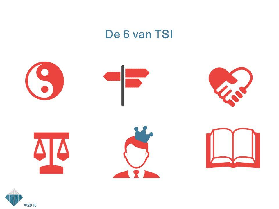 De 6 van TSI ©2016 2