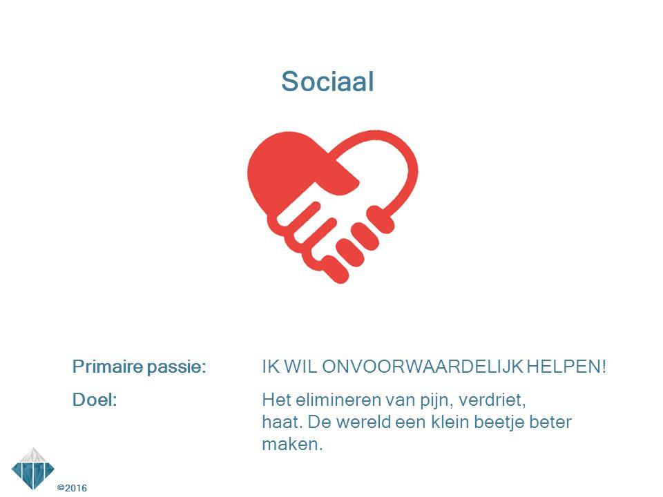 Sociaal Primaire passie: IK WIL ONVOORWAARDELIJK HELPEN!