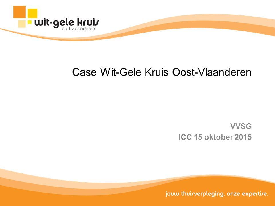 Case Wit-Gele Kruis Oost-Vlaanderen