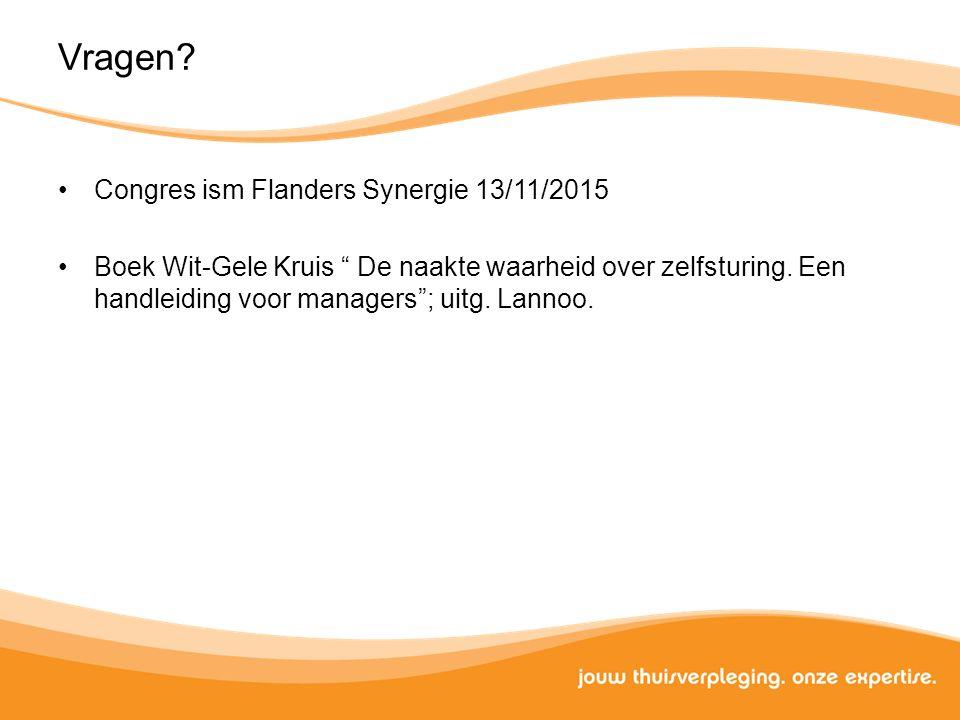 Vragen Congres ism Flanders Synergie 13/11/2015