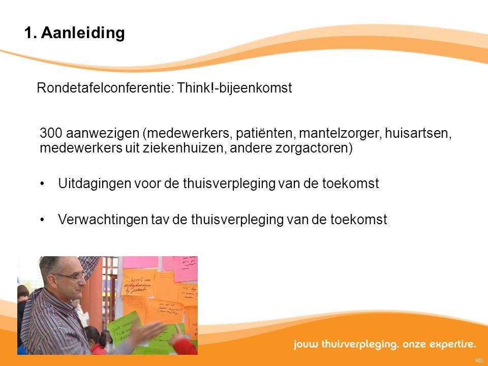 1. Aanleiding Rondetafelconferentie: Think!-bijeenkomst