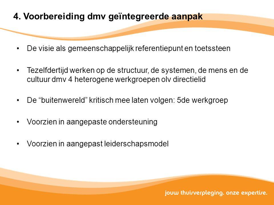 4. Voorbereiding dmv geïntegreerde aanpak