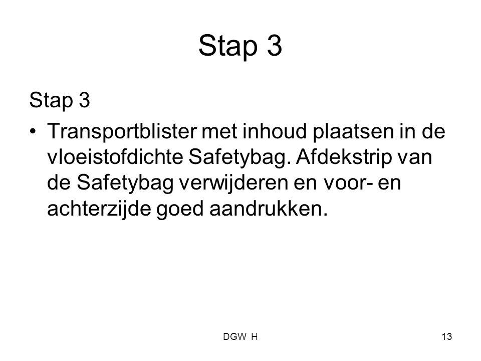 Stap 3 Stap 3.