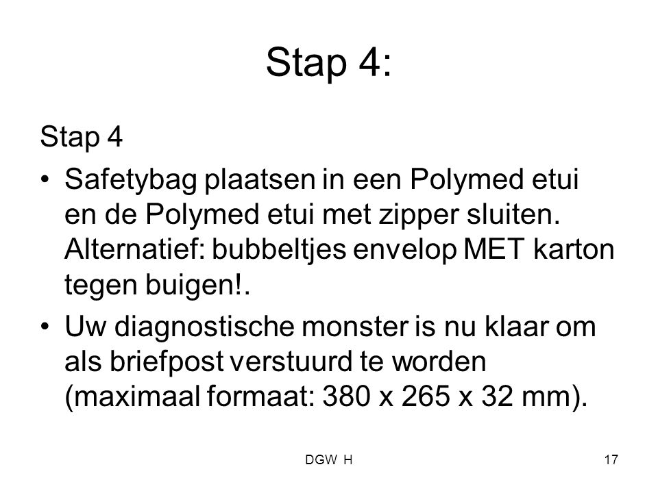 Stap 4: Stap 4.