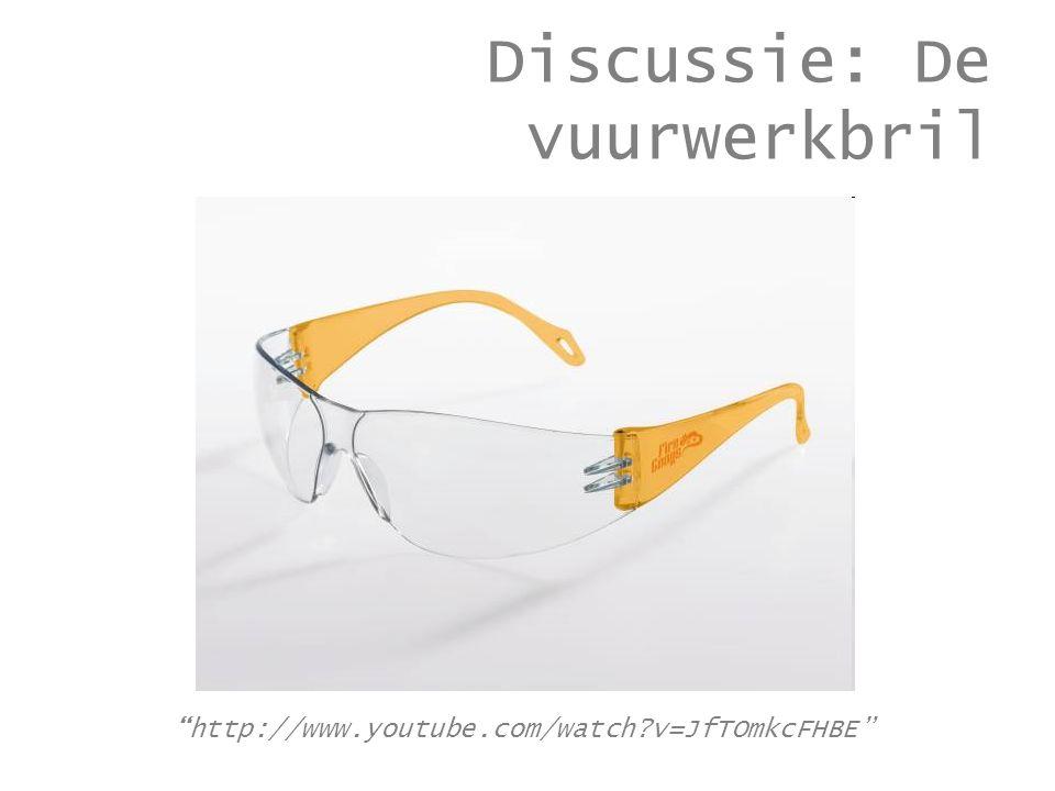 Discussie: De vuurwerkbril