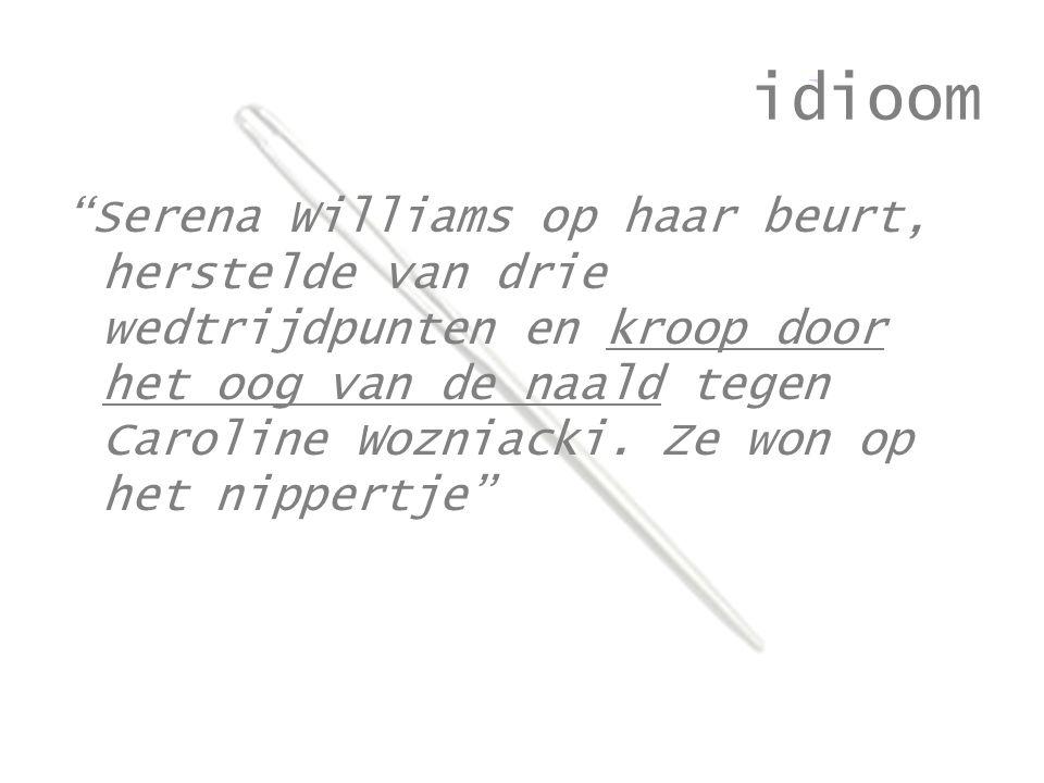 idioom