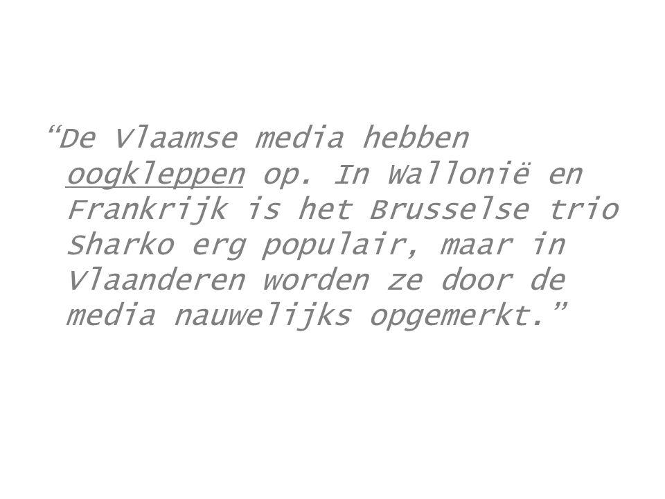 De Vlaamse media hebben oogkleppen op
