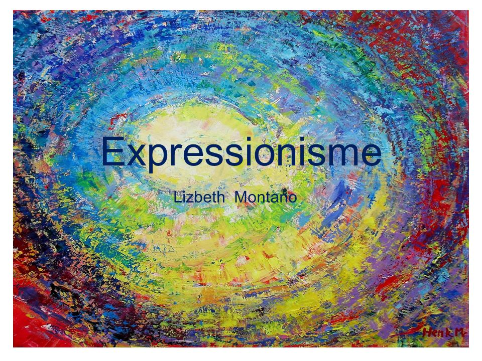 Expressionisme Lizbeth Montano