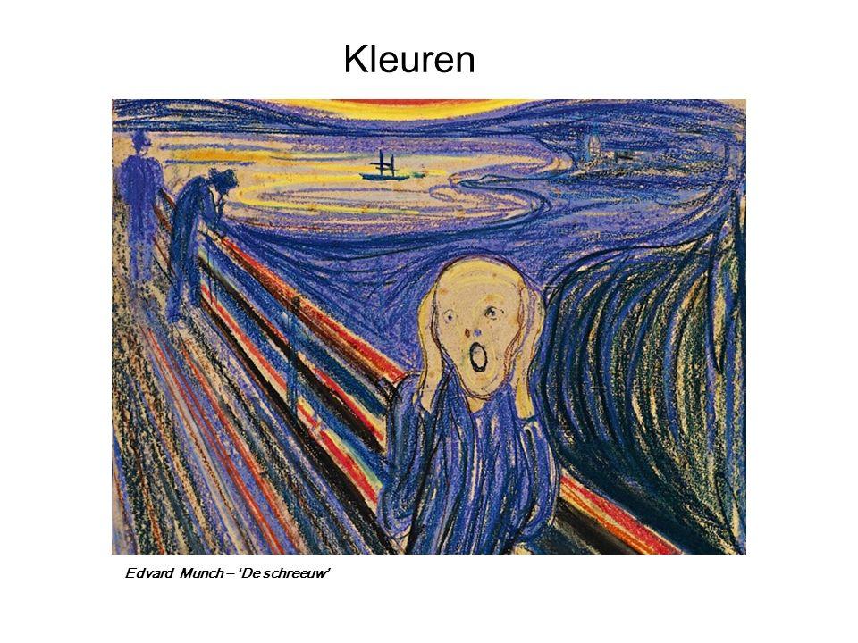 Edvard Munch – 'De schreeuw'