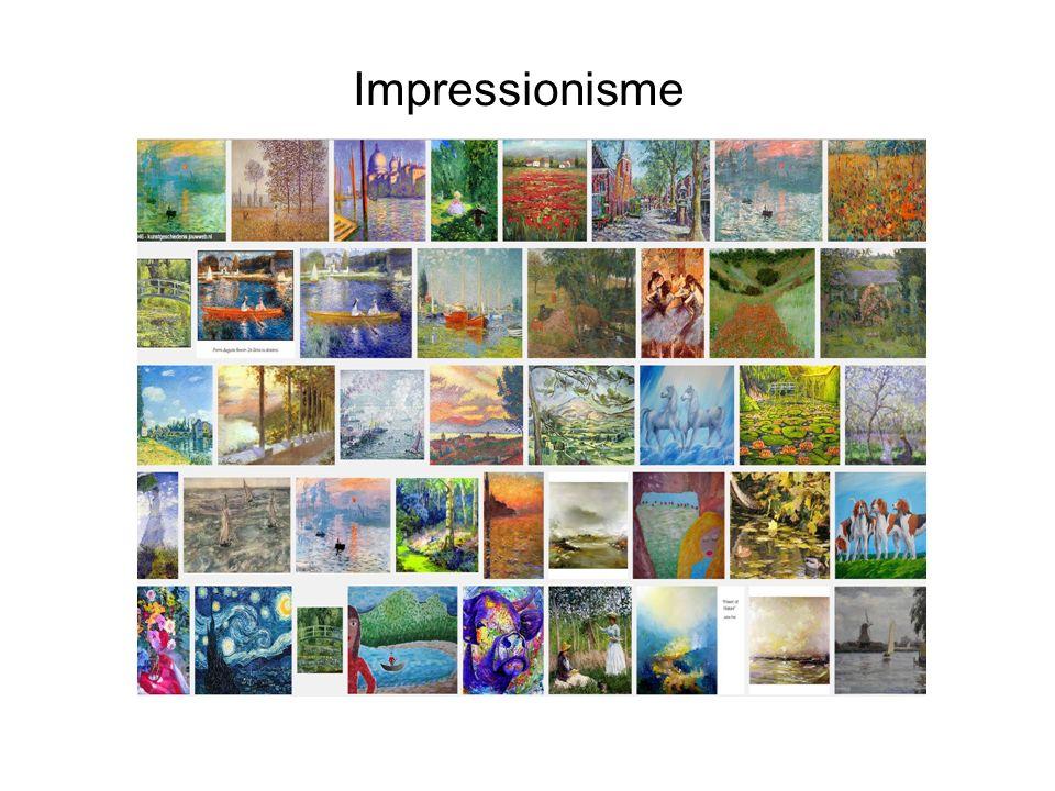 Impressionisme Landschappen, natuur, het moment opname