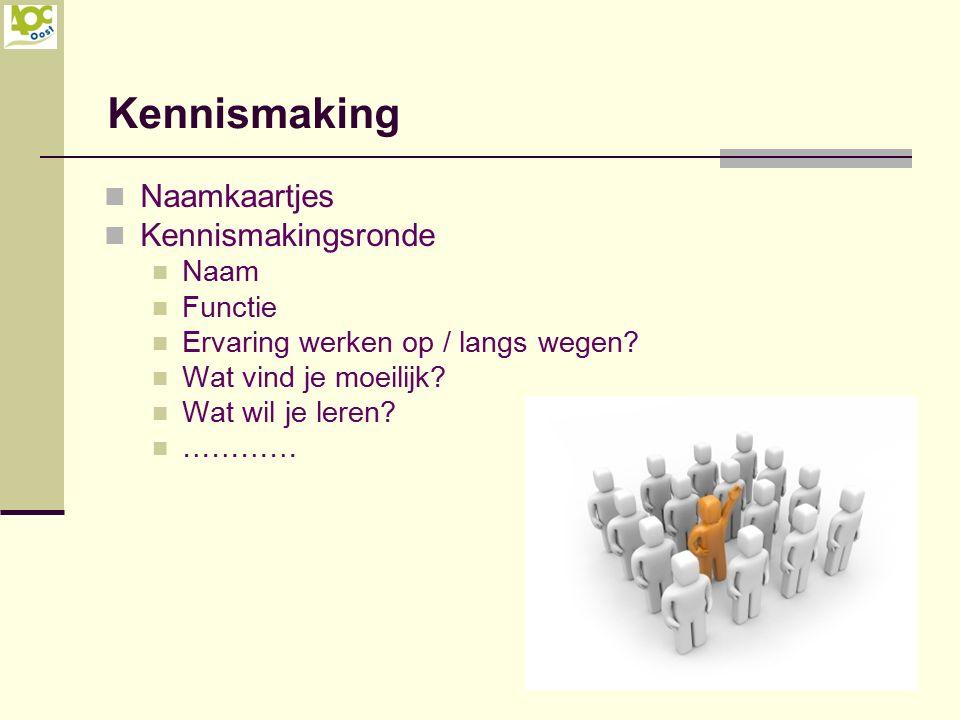 Kennismaking Naamkaartjes Kennismakingsronde Naam Functie