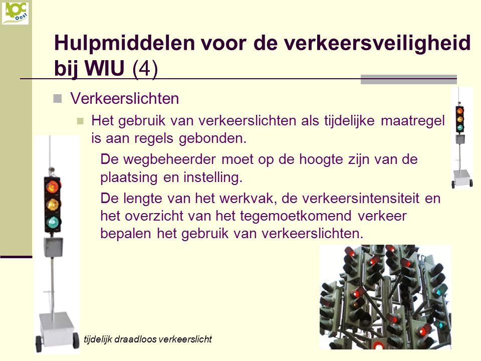 Hulpmiddelen voor de verkeersveiligheid bij WIU (4)
