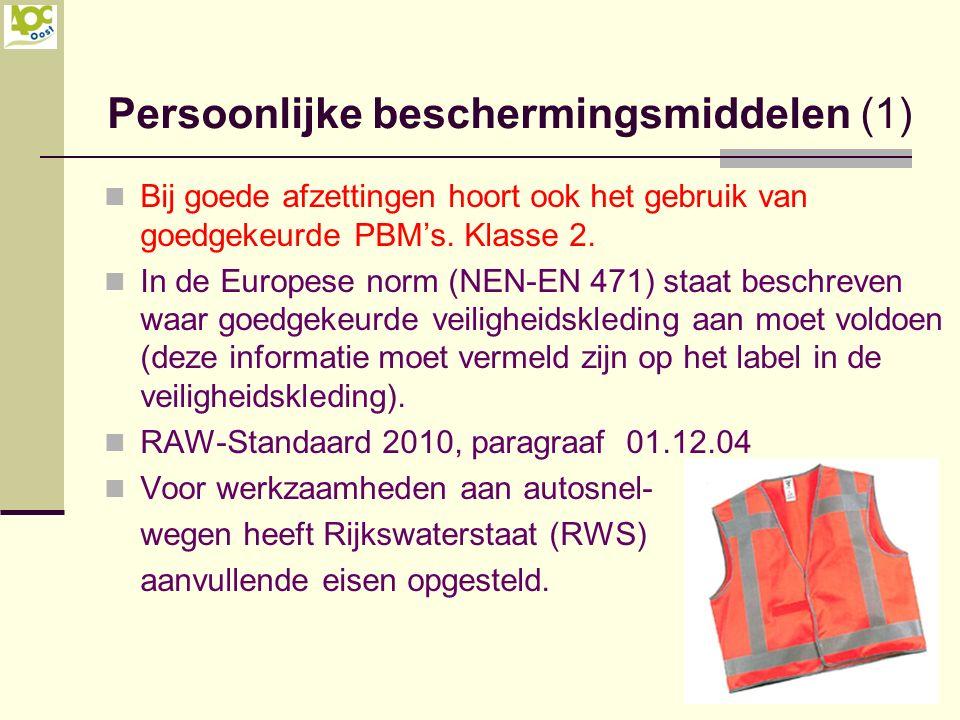 Persoonlijke beschermingsmiddelen (1)
