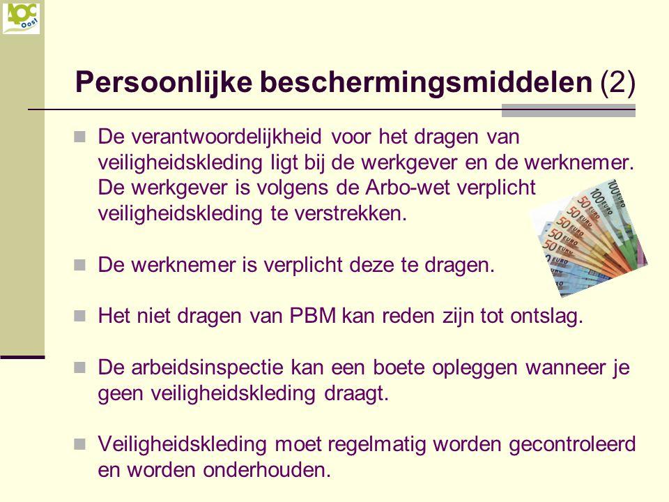 Persoonlijke beschermingsmiddelen (2)