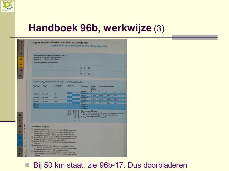 Handboek 96b, werkwijze (3)