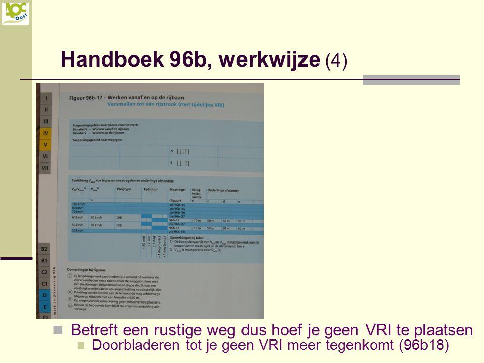 Handboek 96b, werkwijze (4)