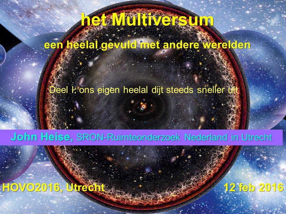 het Multiversum een heelal gevuld met andere werelden