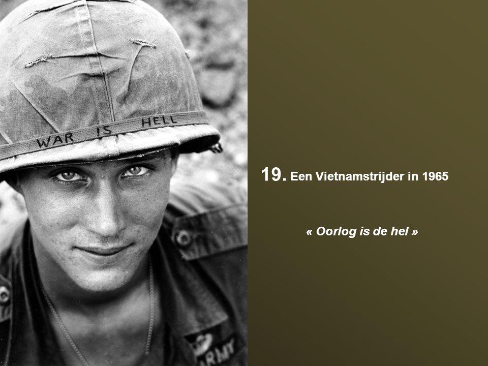 19. Een Vietnamstrijder in 1965
