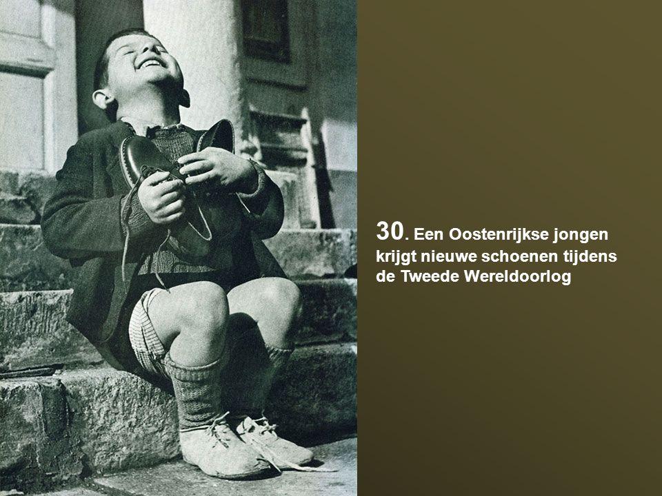 30. Een Oostenrijkse jongen