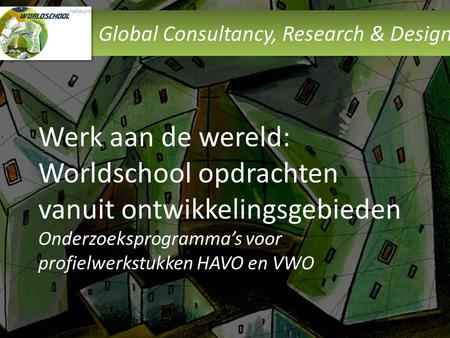 Global Consultancy, Research & Design