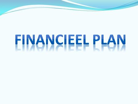 Financieel Plan.