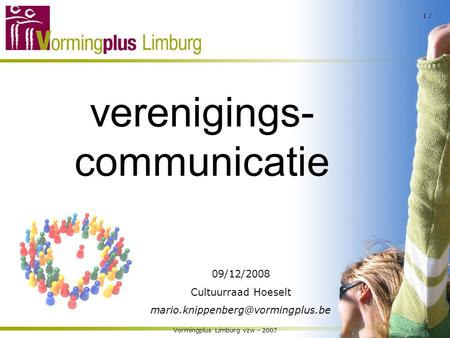verenigings- communicatie