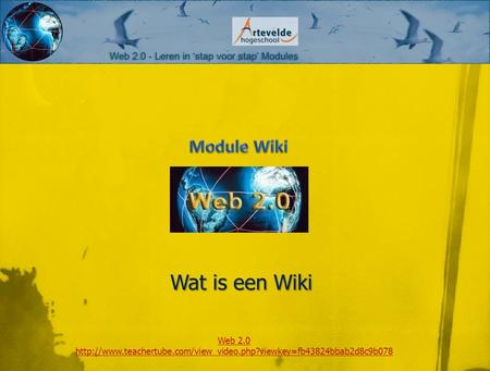 Wat is een Wiki Web 2.0