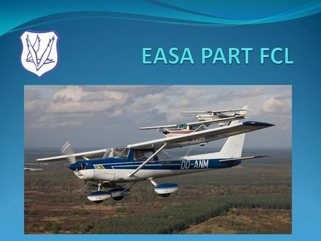 EASA PART FCL.