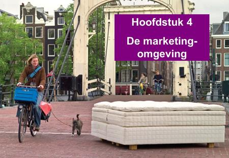 De marketing-omgeving