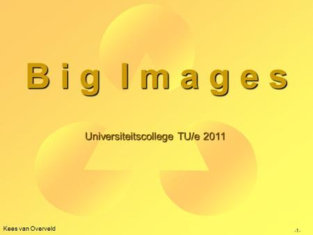 Universiteitscollege TU/e 2011