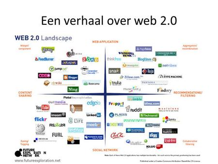 Een verhaal over web 2.0. Web 2.0 & Business Consultants.