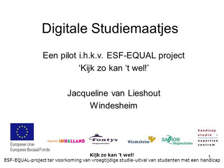 Digitale Studiemaatjes