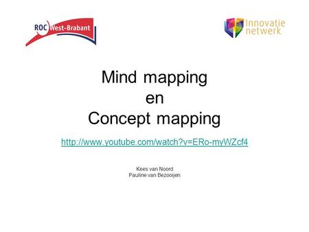 Mind mapping en Concept mapping