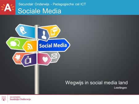 Wegwijs in social media land