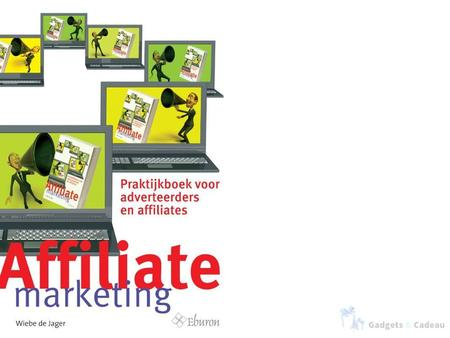 Wat is affiliate marketing? Affiliate marketing is een vorm van online marketing waarbij de adverteerder (merchant of webwinkelier) de affiliate (uitgever/webmaster)