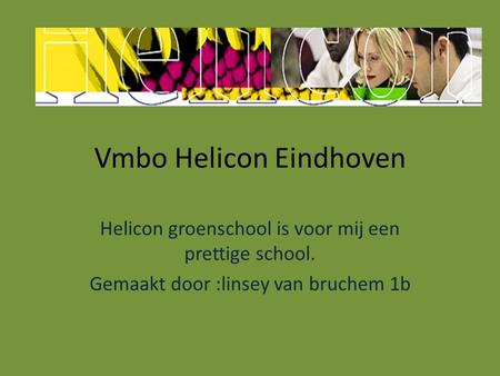 Vmbo Helicon Eindhoven