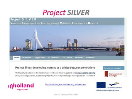 Project SILVER